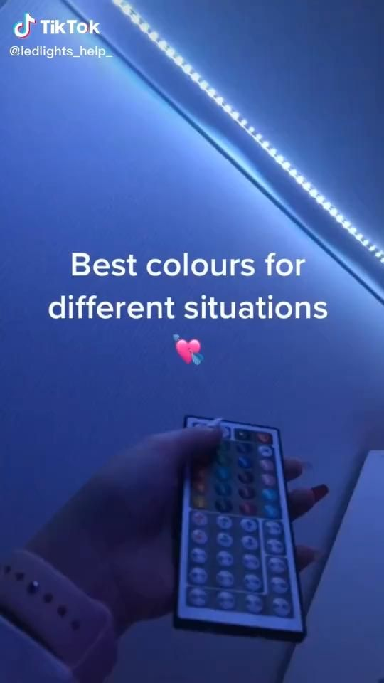 How To Make Colours On Led Lights Video Led Lighting Diy Led Lights Led Lighting Bedroom
