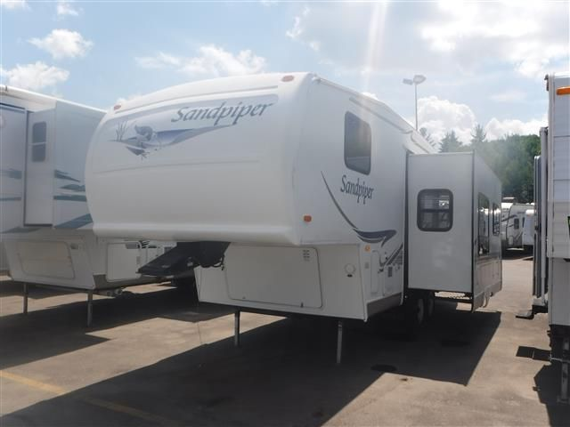 Used 2003 Forest River Sandpiper 25RL Fifth Wheel For Sale ...