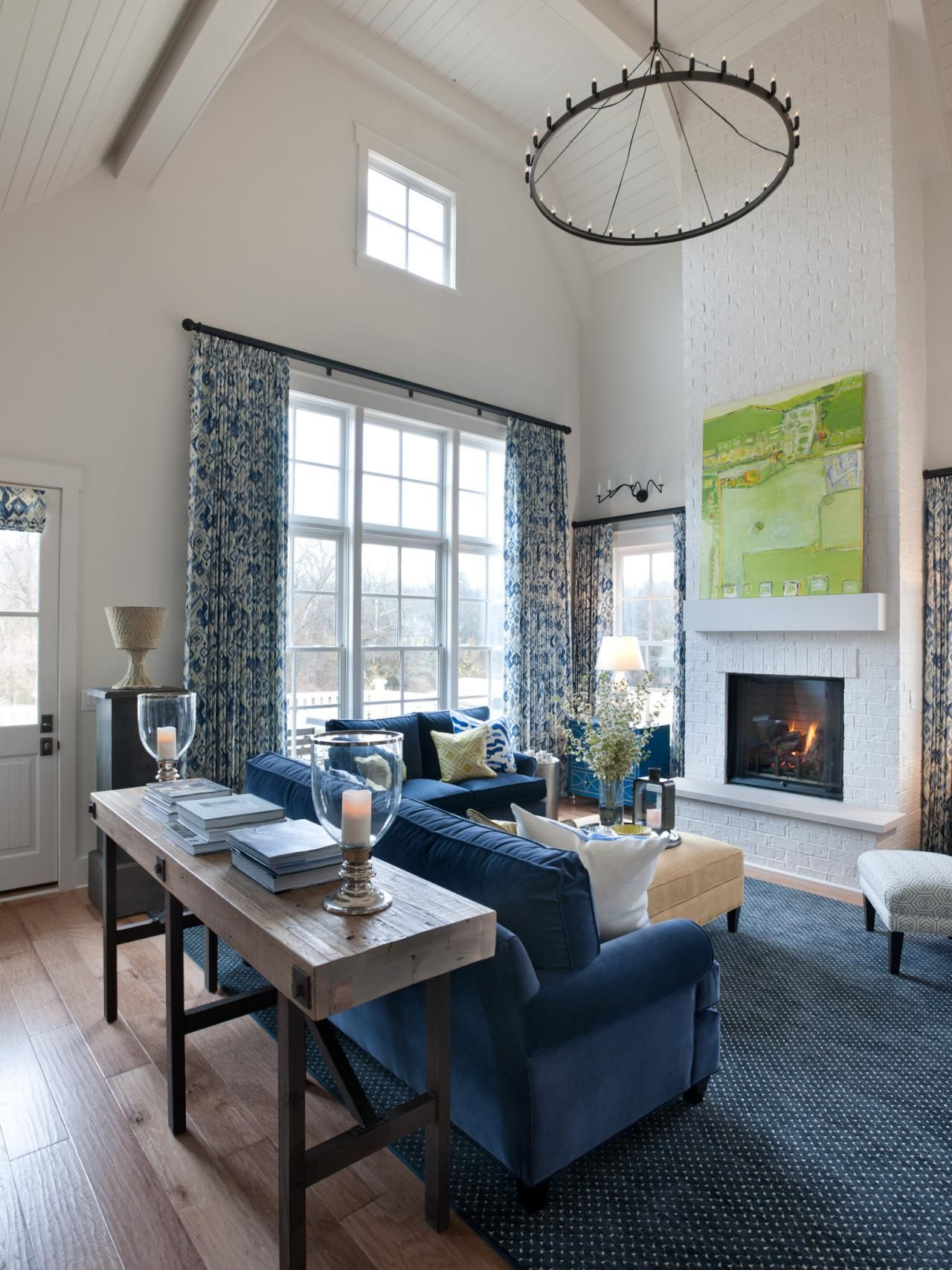 Hgtv Small Spaces Living Rooms: Great Room Pictures From HGTV Smart Home 2014
