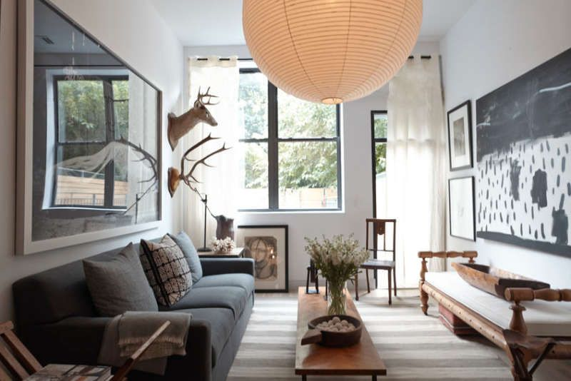 How To Set Up Your Living Room Without A Focus On The Tv Apartment Therapy Living Room Living Room Without Tv Small Living Room Design