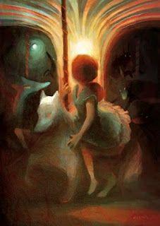 Danse Avec Les Loups Whimsy Art Illustration Story