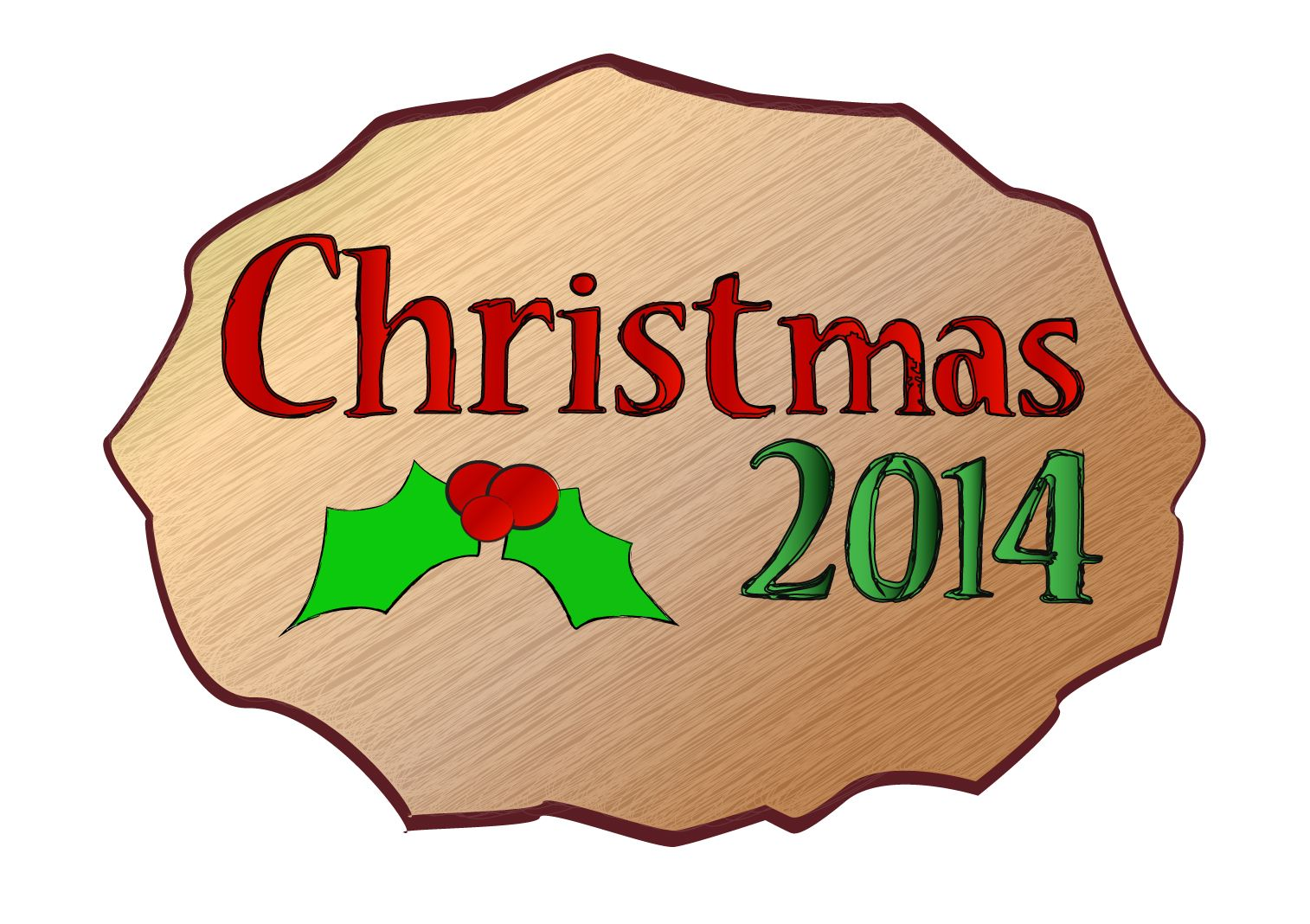 My official logo for Christmas 2014. More great logos like this can be found via my website, www.bobbygaines.net