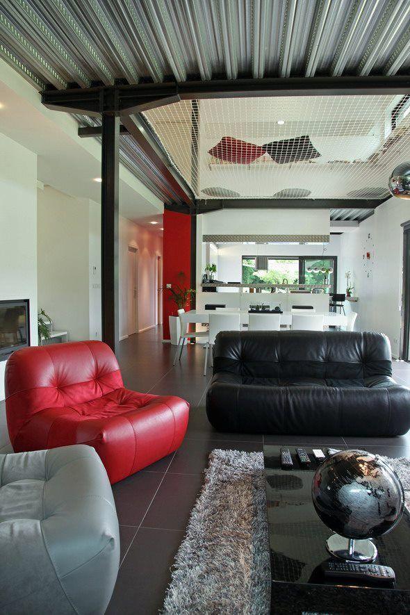 un filet de trampoline pour vide sur s jour copyright p n lope octavio office pinterest. Black Bedroom Furniture Sets. Home Design Ideas