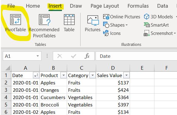 Multi Row And Multi Column Pivot Table Pivot Table Column Pivot Table Excel
