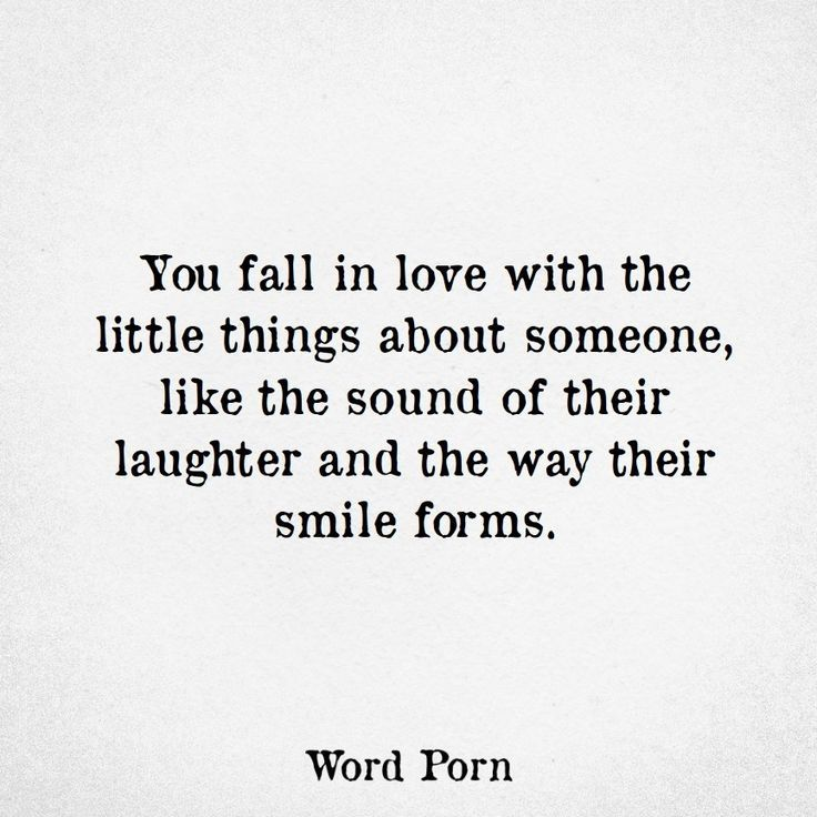Quotes About Love  You fall in love with the little things about - service quotation
