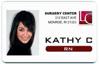 easy id card make your own id badges online business pinterest