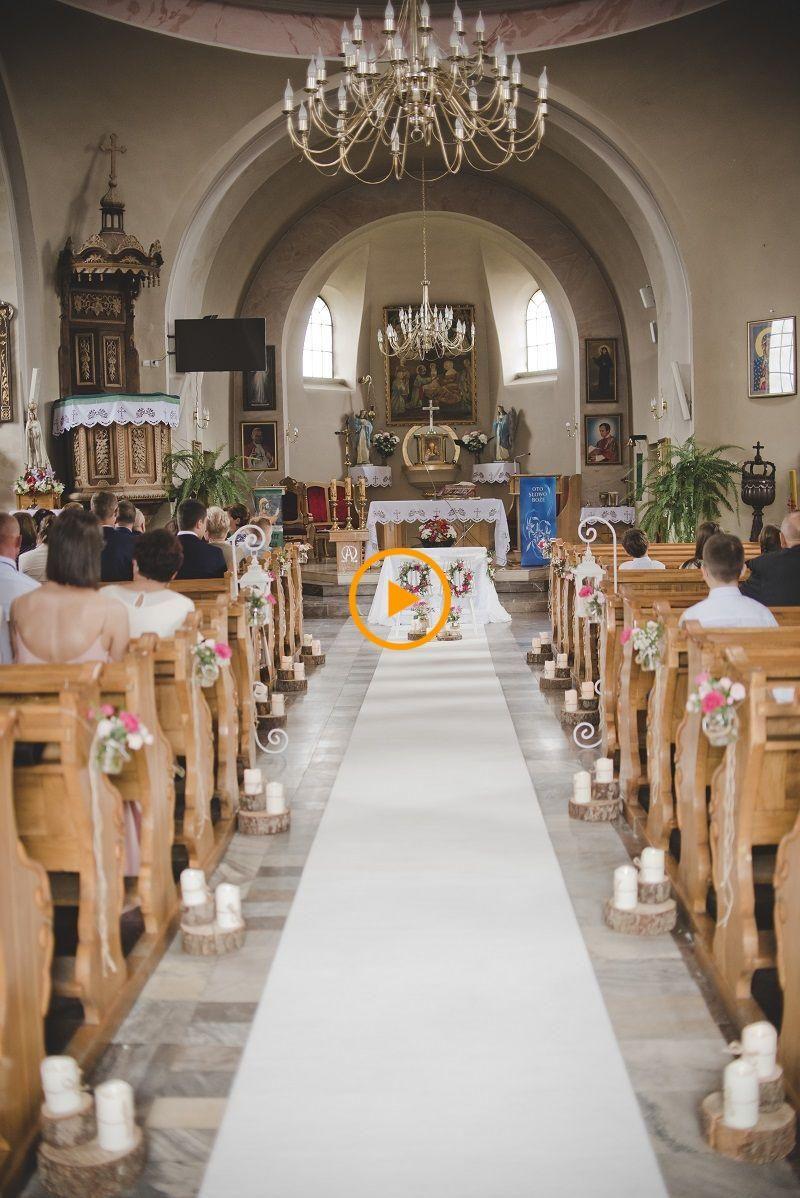 Wedding decoration church 35 simple u. tasty church