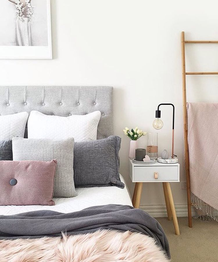 This ladder.   Bedroom styles, Kmart home, Bedroom makeover