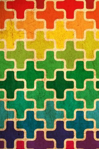 Original Wallpaper Size Of Colorful Pattern IPad Background