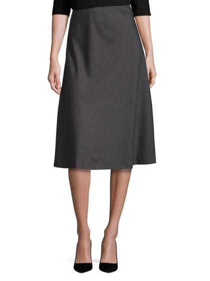 Max Mara Gaeta Wool Midi Skirt