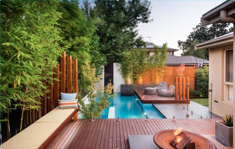 40 Sublime Swimming Pool Designs For The Ultimate Staycation Freshome Com Small Backyard Pools Small Pool Design Small Backyard Design