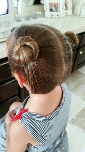 Toddler Hair Two Buns Toddler Hair Bun Hairstyles Girls Hairdos