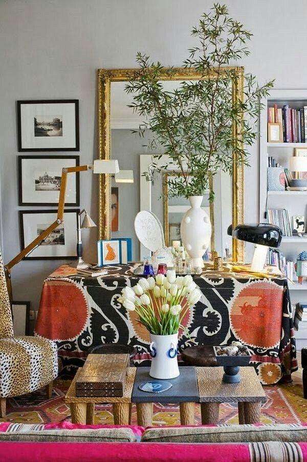Boho Eclectic Chic Home Decor Boho Chic Living Room Home Decor
