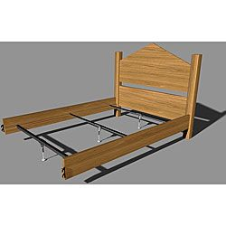 Shop For Mantua Steel Rail Support System Wood Beds Get Free Delivery At Overstock