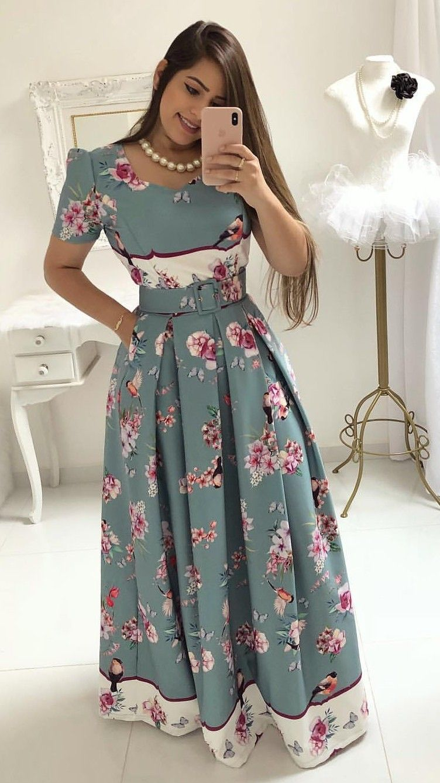 87f02e48c mustachestore #dress #vestido #estampa #lindo #rosas #flores #floral ...