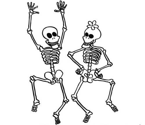 Fantastisch Menschliche Skelett Malvorlagen Zeitgenössisch - Ideen ...