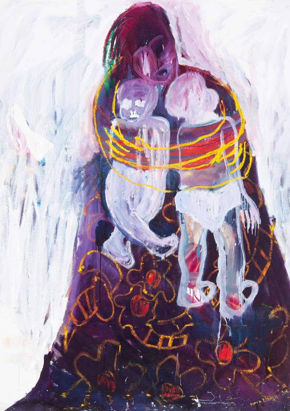 BOMB Magazine — Portia Zvavahera by Netsayi African art