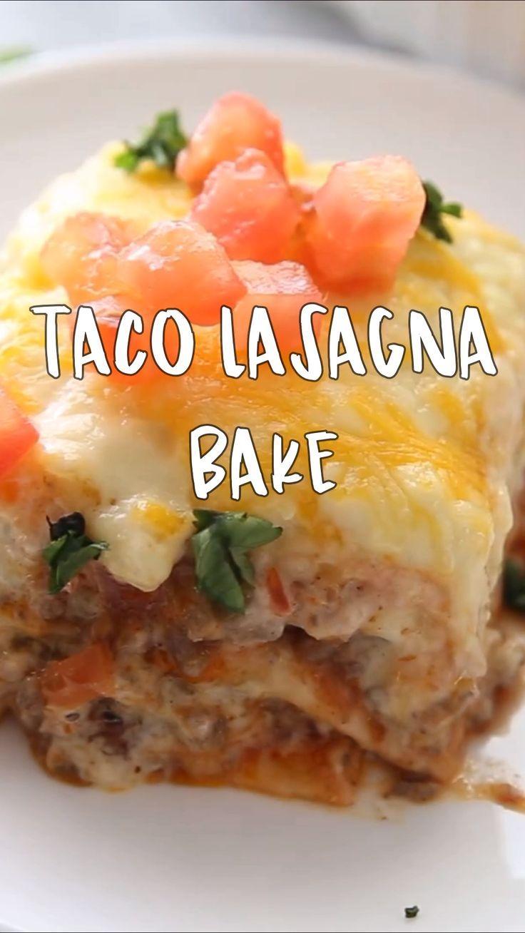 Taco Lasagna Bake Recipe images