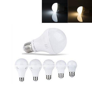 E27 3W 5W 7W 9W 12W Warm White Pure White LED Global Light
