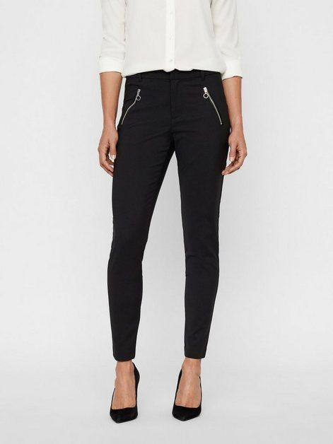 Photo of Vero Moda VMVICTORIA Normal midjebukse, Slim Fit bukse online OTTO