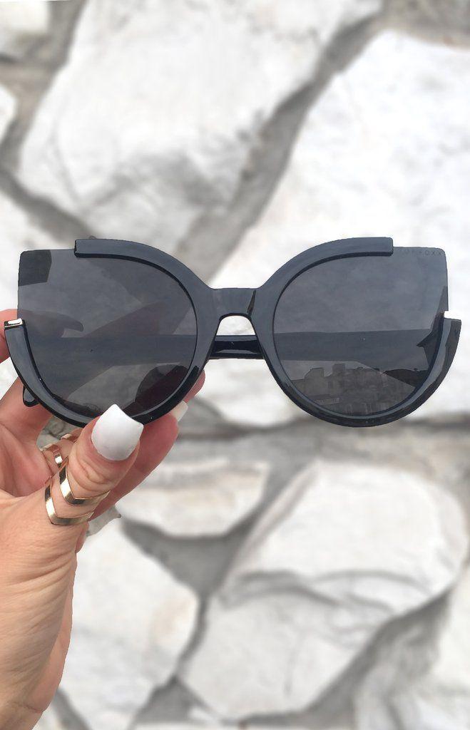 5776e2cf7e Black Cat eye sunglasses