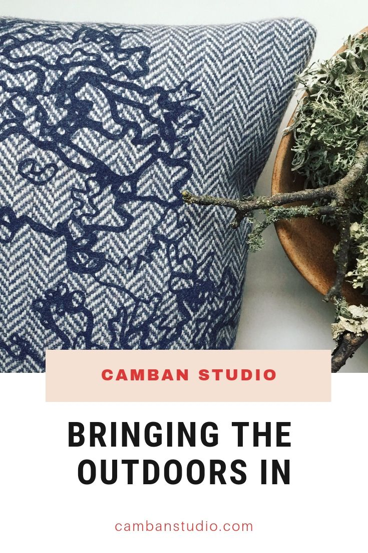 Bringing the outdoors in with Biophilic Design and Camban Studio prints.