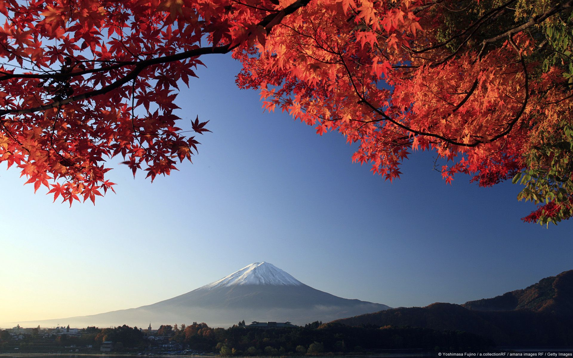 Japan Landscape Japanese Nature Volcano Wallpaper