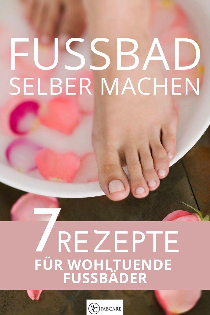 su propio baño de pies: 7 recetas para baños de pies relajantesHaga su propio baño de pies: 7 re