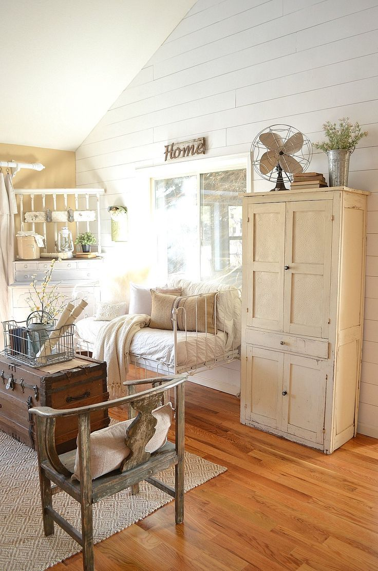 Safe Room Design: French Country Living Room