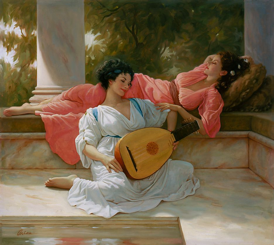 Mark Arian, 1947 | Romantic Figurative painter | Part. 1 | Tutt'Art@ | Pittura * Scultura * Poesia * Musica |