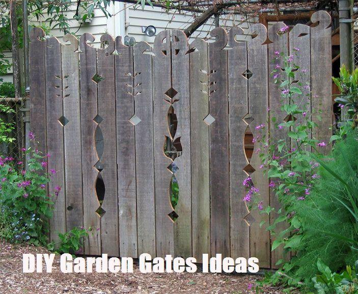 TOP 10 DIY Garden Gates Ideas TOP 10 DIY Garden Gates Ideas#diy #garden #gates #ideas #top