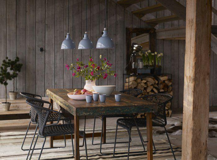Esstisch Le Design rustikaler esstisch macht die küche zu einem interessanten ort