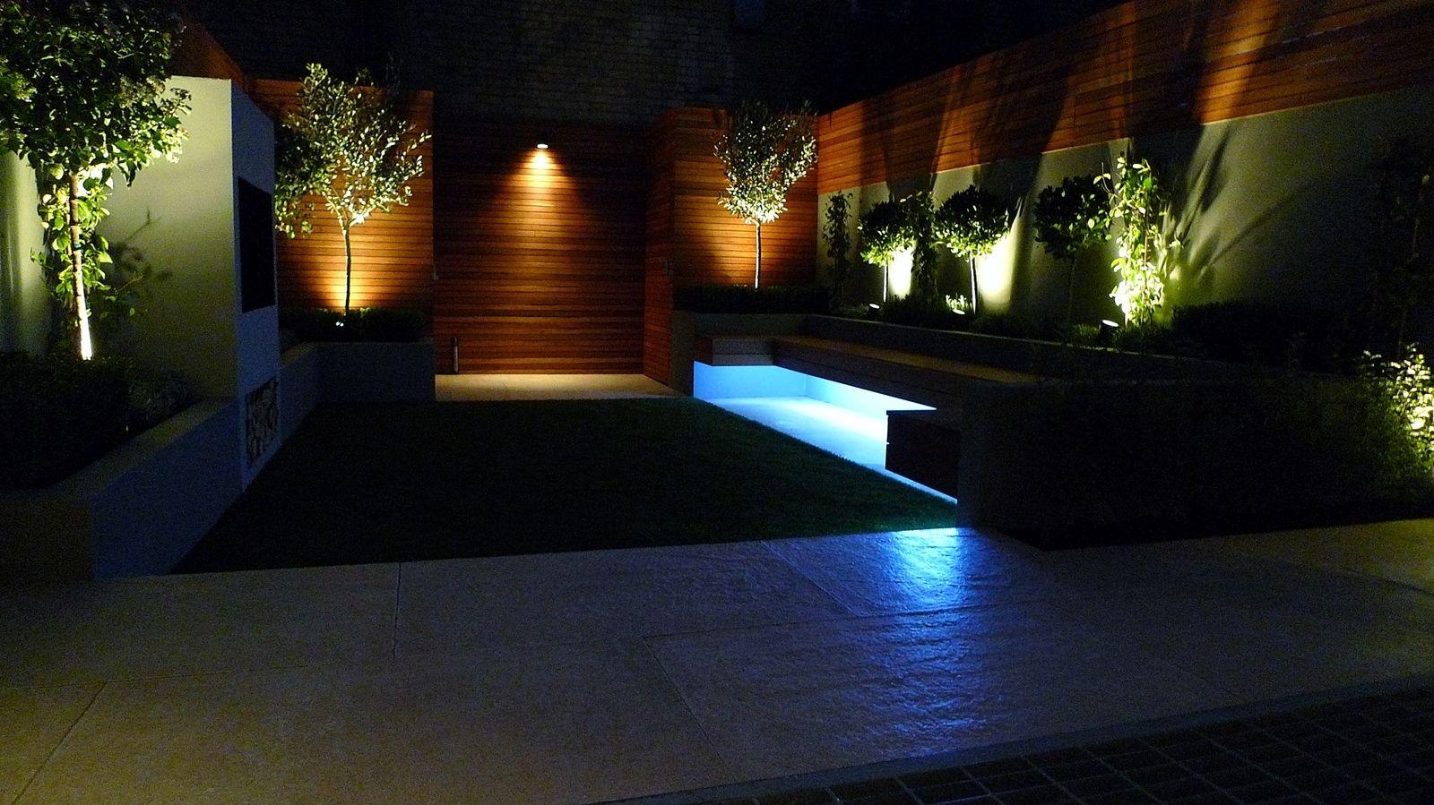 Landscape Night Lighting