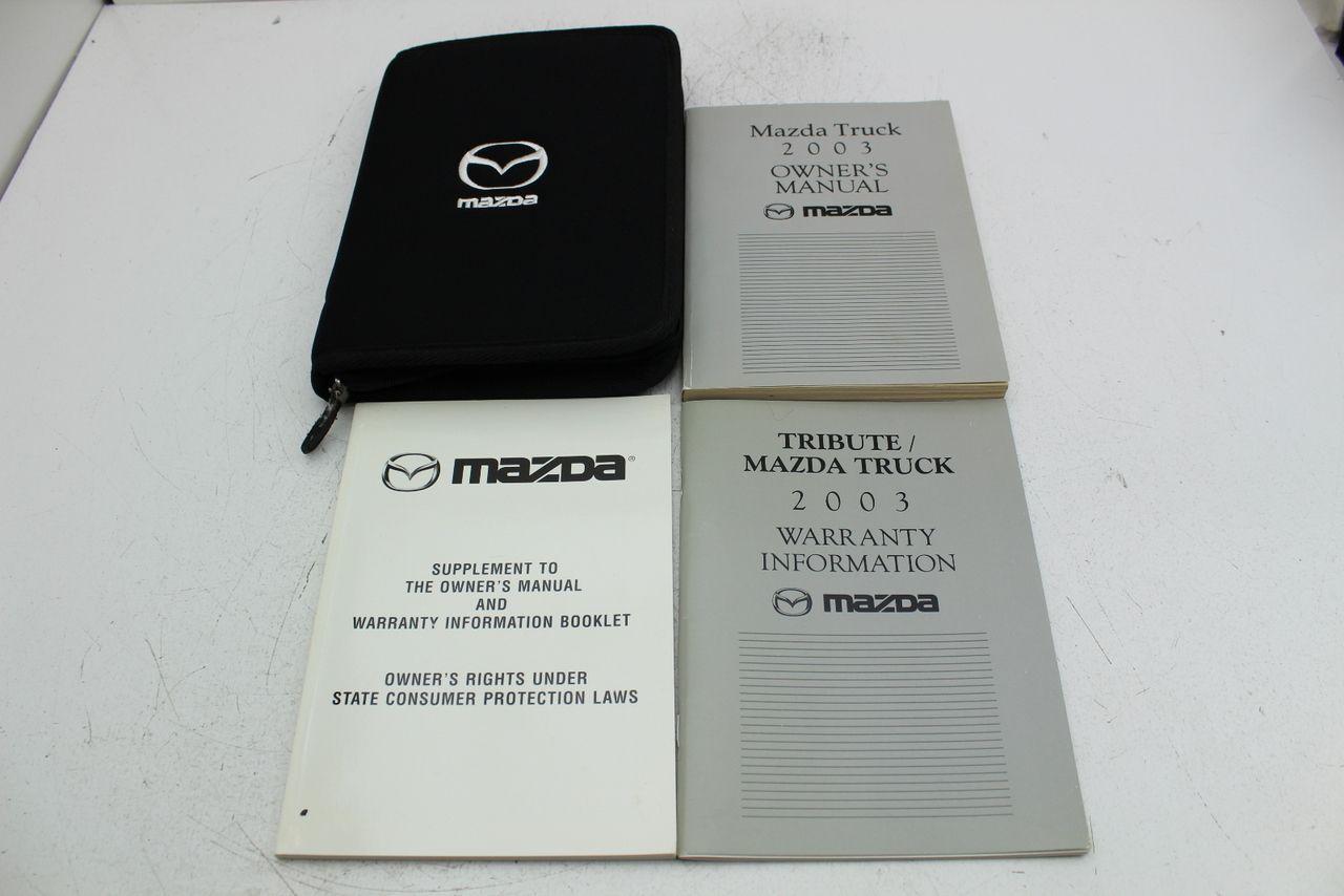Image 1 Owners Manuals Mazda Manual