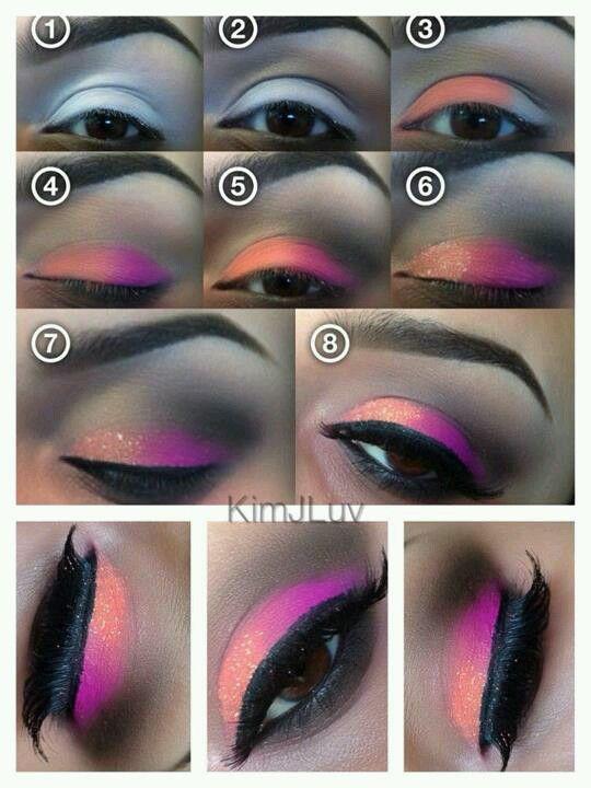 Facebook Kim J Luv Makeup Tutorial