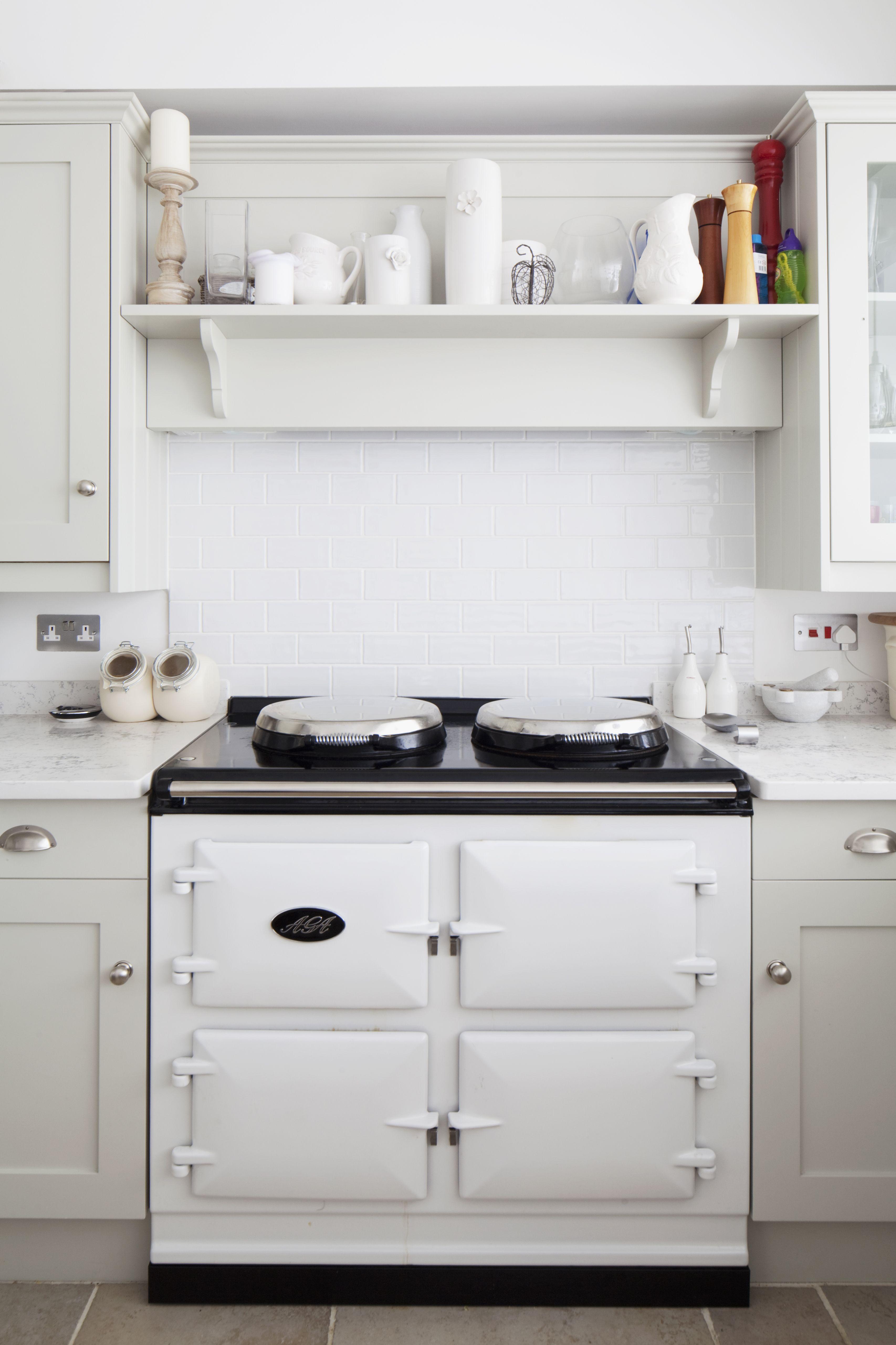 Modern Aga range cooker to shaker style kitchen | Brighton ...