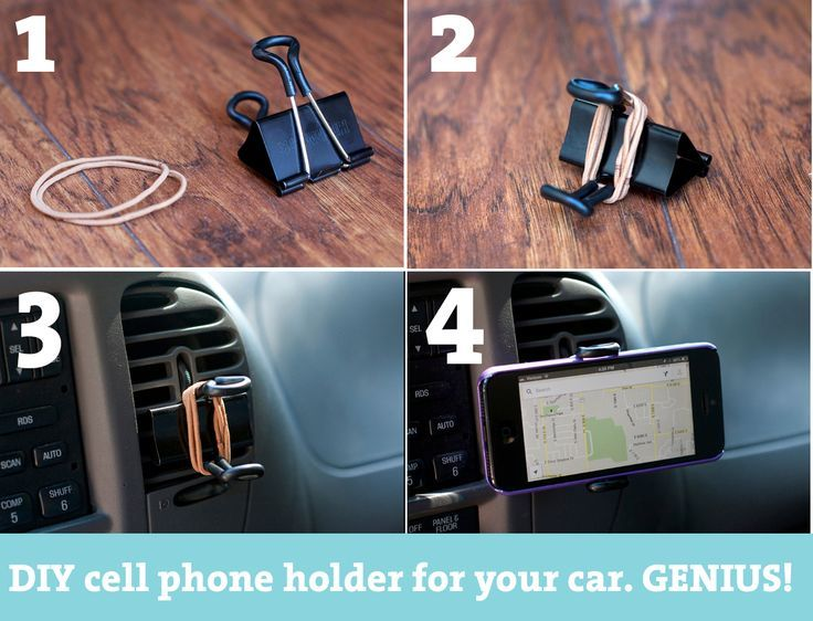 Organizer Ufficio Fai Da Te : 10 porta cellulare fai da te per portare il cellulare ovunque dall
