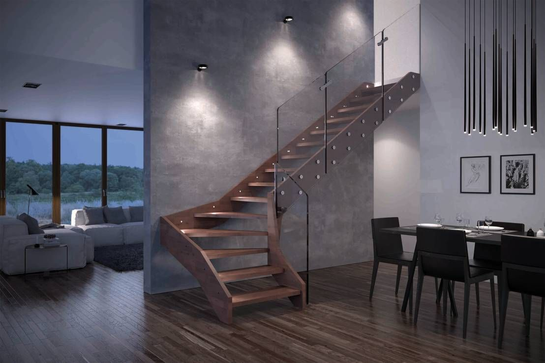 Scale interne in legno firmate Rintal : Scale di Rintal | casa ...