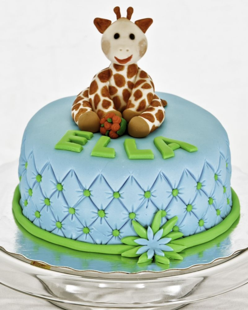 Sophie the Giraffe Birthday Cake Uploaded By hayleybaley Cakes