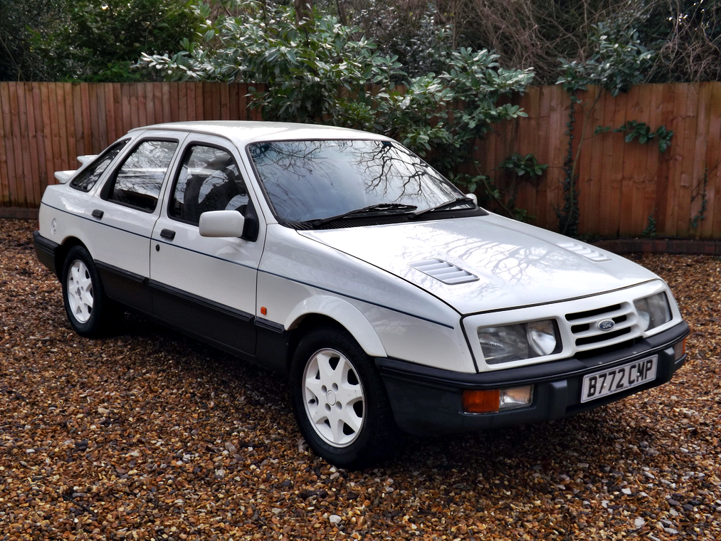 Extremeley Rare 1985 Ford Sierra Xr8 5 0 V8 Ford Sierra Ford Classic Cars Classic Cars