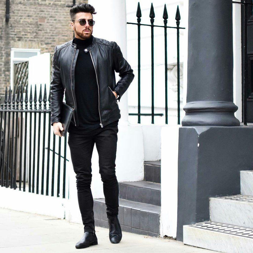 Men S Fashion Blog Men S Fashion All Black Outfit