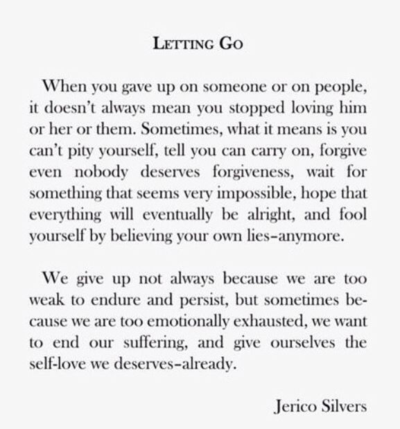 Marvelous Letting Go   The Minds Journal