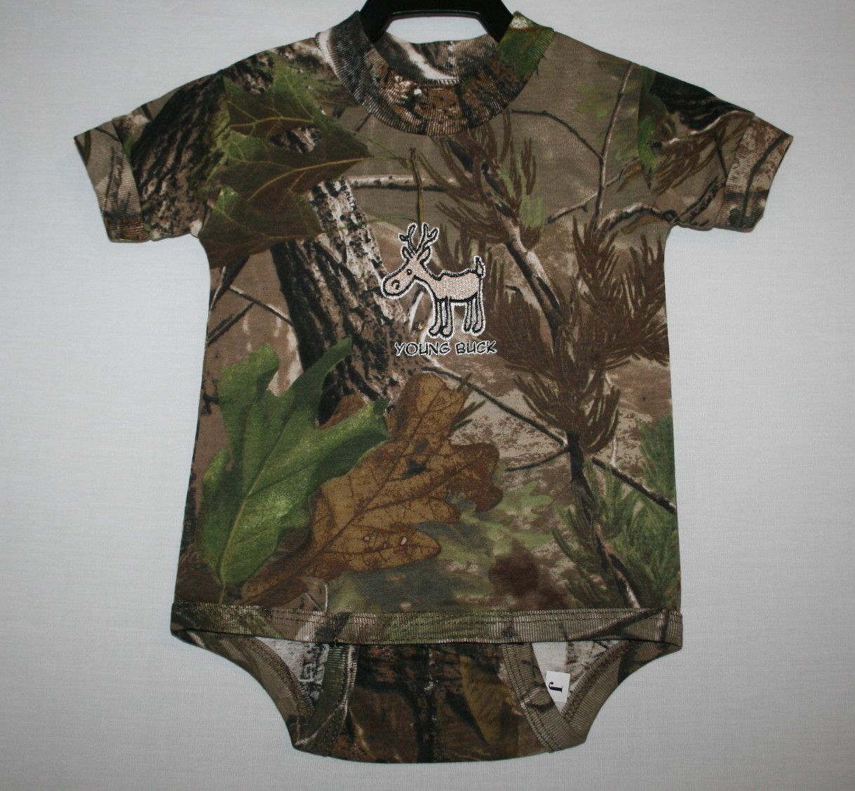 Realtree Camouflage 'Young Buck' Onesie | Real tree ...
