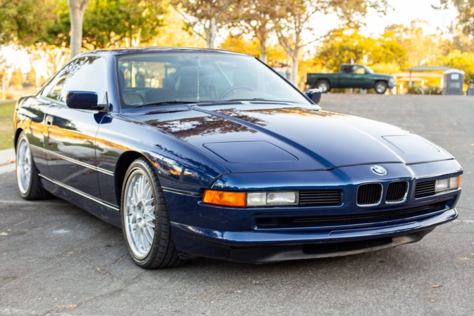 1991 Bmw 850i Bmw Automatic Transmission Metallic Blue