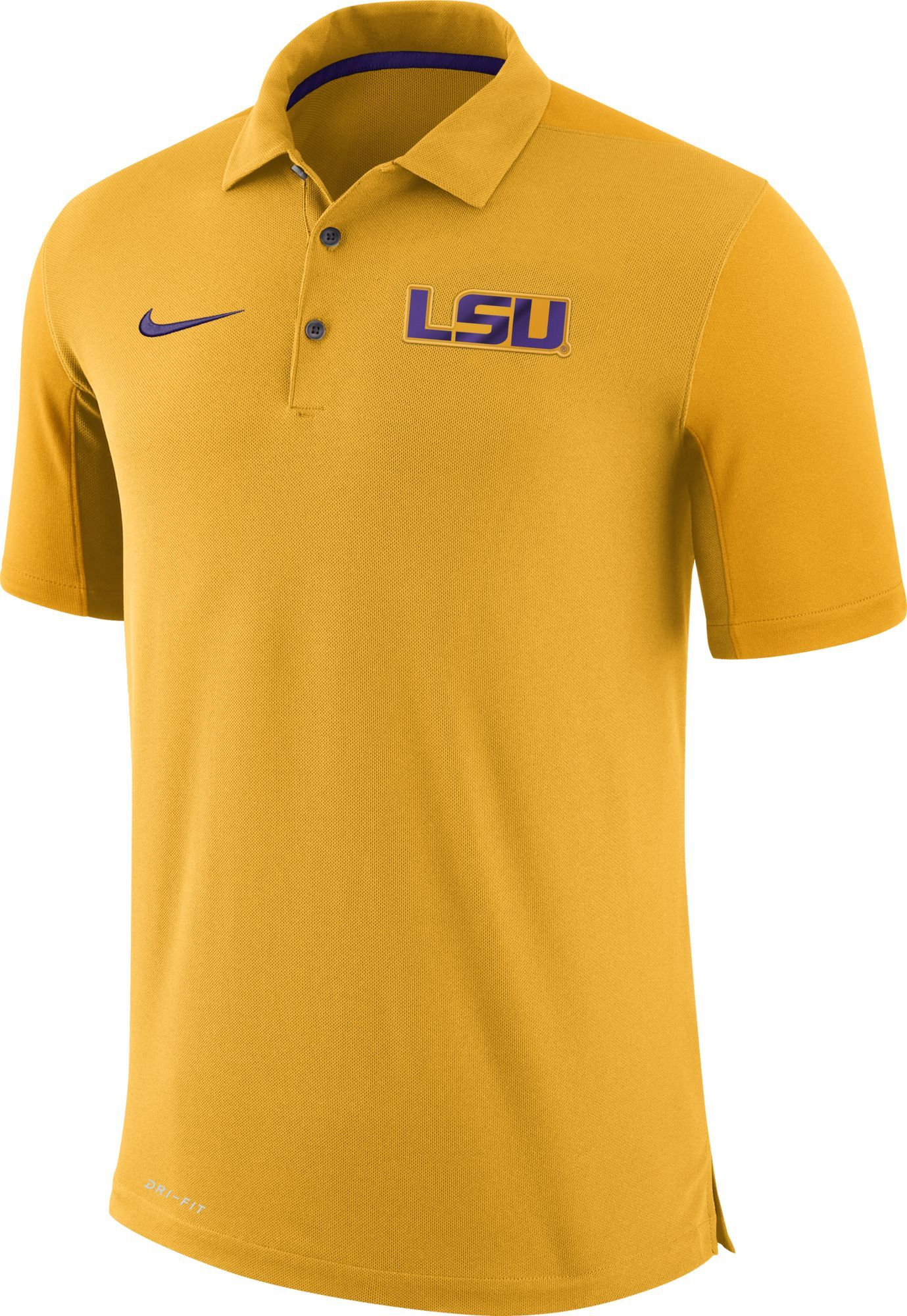 a4756823 Nike Men's LSU Tigers Gold Team Issue Football Sideline Performance ...