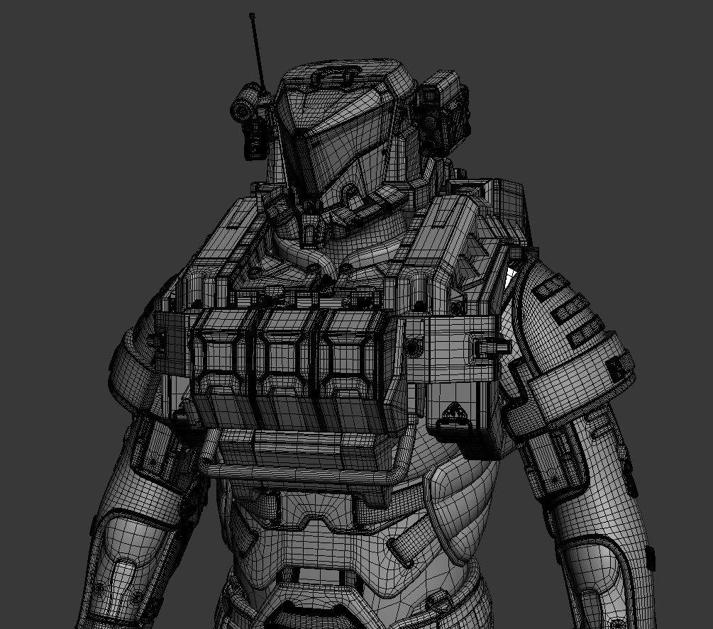 Making Of Персонаж для вселенной Mass Effect