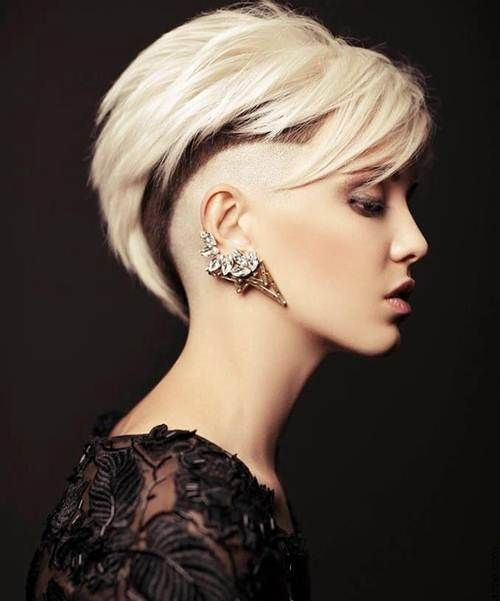 Shaved Hairstyles 20 shaved hairstyles for women Shaved Hairstyles For Women Show Your Masculine Side Httpwww