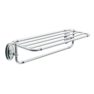 Moen Yb5494bn Kingsley Hotel Towel Shelf Brushed Nickel Amazon