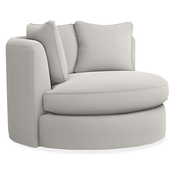 Eos Swivel Chair Modern Accent Amp Lounge Chairs Modern