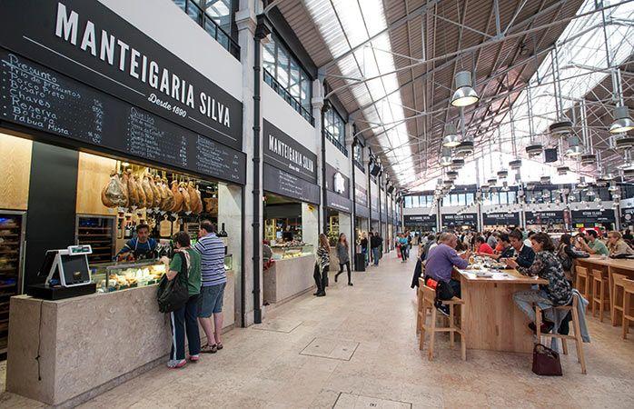 Mercado da ribeira lebensmittelmarkt in lissabon urlaub for Innenraum design berlin